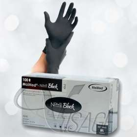Handschuhe - Latexfrei - schwarz (100 Stück)