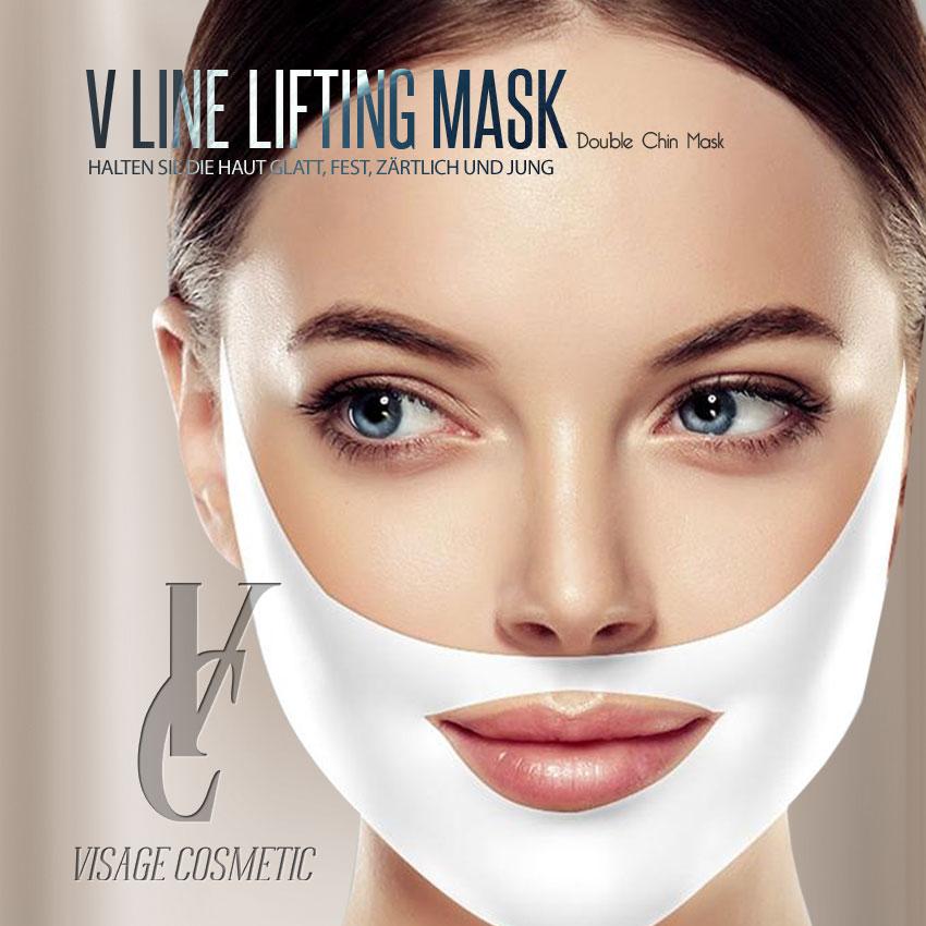 V-Line Lifting Gel Masken für Gesicht und Kinn